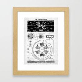 NIKOLA TESLA Framed Art Print