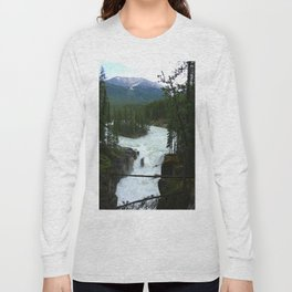 Sunwapta Falls View Long Sleeve T-shirt