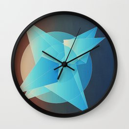 """Solid 05- """"Riforma della Giustizia"""" Wall Clock"""