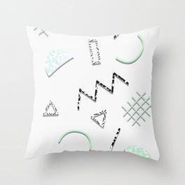 Doodling Pattern 008 Throw Pillow