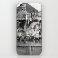 carousel iPhone & iPod Skins featuring Carousel by Ibbanez