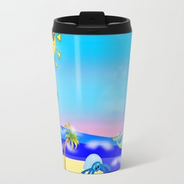 Beach Party for the Baby Crabs Travel Mug