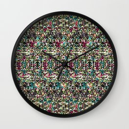 Multicoloured Rice, Rice Baby Wall Clock