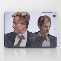true detective iPad Cases featuring True Detective - Vector lowpoly by Blackjudith