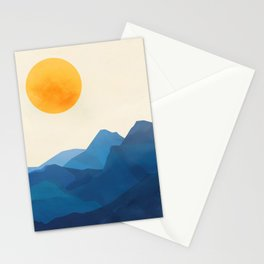 Minimalistic Landscape 15 Stationery Cards