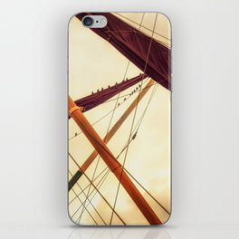 Masts of Yacht iPhone Skin