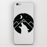 howl iPhone & iPod Skins featuring Howl by Mateus Quandt