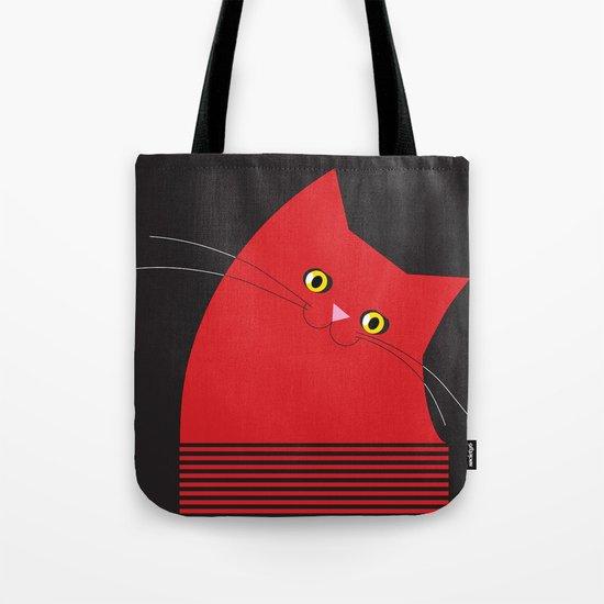 Red Cat - Mucci Tote Bag
