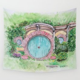 """""""Roads go ever ever on..."""" Wall Tapestry"""