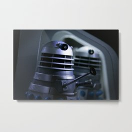 Doctor Who an the Dead Planet Daleks (2) Metal Print