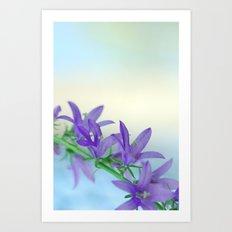 Tender Blue 5 Art Print