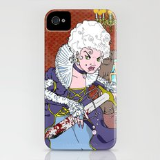 Jeannette-Marie, Zombie Slayer of Marseille iPhone (4, 4s) Slim Case