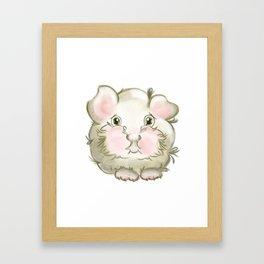 Guinea pig Framed Art Print