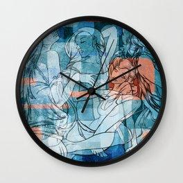 Retro Girls Wall Clock