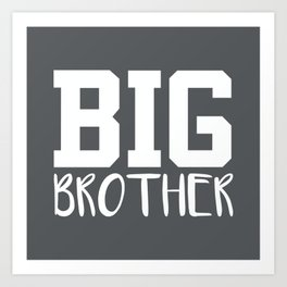Big Brother, Pregnancy Reveal Art Print