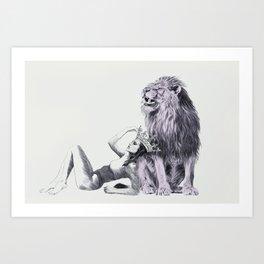 The Queen (Leo) Art Print