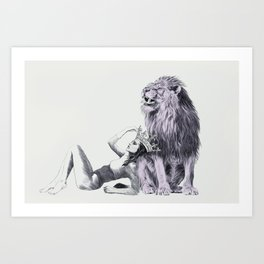 The Queen (Leo) Art Print