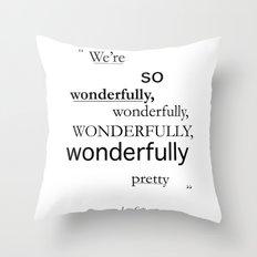 Wonderfully... Throw Pillow