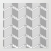 contemporary Canvas Prints featuring Contemporary by Pure