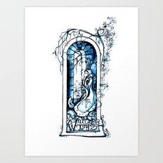A Winter's Tale - Fantasy Art Nouveau - Shakespeare Illustration Art Art Print