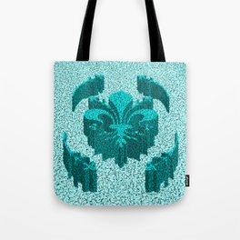 Florentine Teal Garden Tote Bag