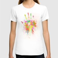 T-shirts featuring Artist Hand (1) by Adil Siddiqui