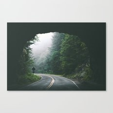 Through The Tunnel Canvas Print