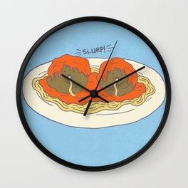 Cannimeatballism! Wall Clock