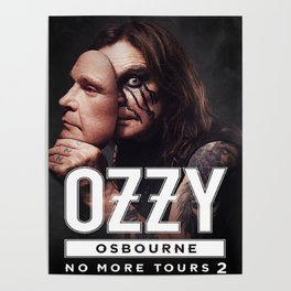 no more tour 2 ozzy 1osbourne Poster