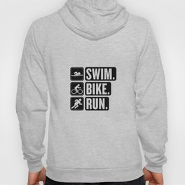 Swim Bike Run Block 2 Hoody