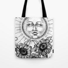 Sun Tarot Tote Bag