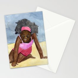 A Day On The Beach Stationery Cards