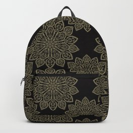 Floral Ornamental Arabesque Mandalas Backpack