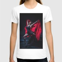 spanish T-shirts featuring Spanish Dancer by Sacred Visions