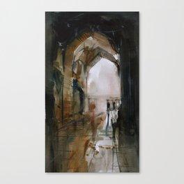 Under the Ali Qapu palace Canvas Print