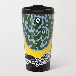 "Art Deco Design ""Selection of the Heart"" by Erté Travel Mug"