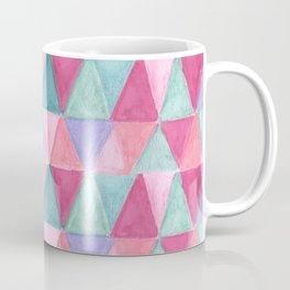pastel triangle pattern Coffee Mug