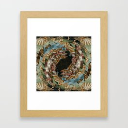 processing boticelli Framed Art Print