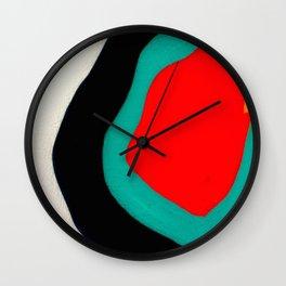 Abstract graffiti London Wall Clock