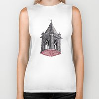architecture Biker Tanks featuring Fleshy Architecture  by J.P Ormiston