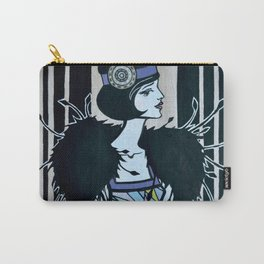 Melancholic flapper Carry-All Pouch