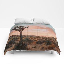 Joshua Tree IX / California Desert Comforters