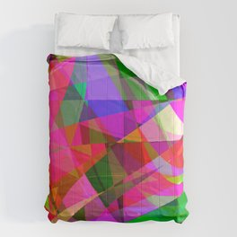 crank up the color Comforters