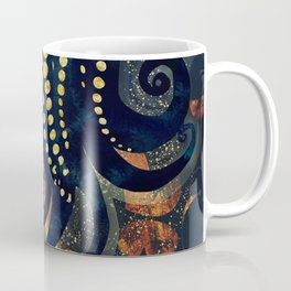 Metallic Ocean Coffee Mug