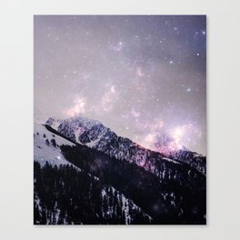 Winter howl Canvas Print