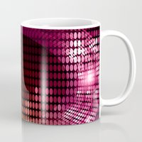 disco Mugs featuring Disco by frenkelvic
