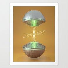 Gamma Rays Art Print