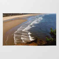 oregon Area & Throw Rugs featuring Oregon Coast by MaryPaul