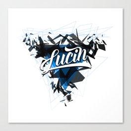 Lucin Canvas Print