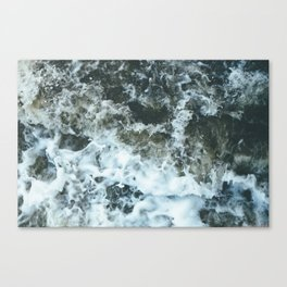 Grand River Splashing Canvas Print